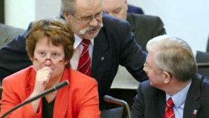 Ministerpräsident Börner trug er auch auf Händen