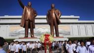 21. Todestag von Staatsgründer Kim Il-sung