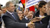 Präsident mit deutschen Wurzeln