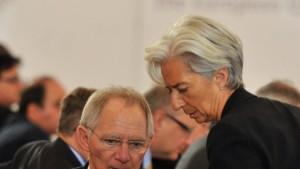 Auch Merkel und Schäuble für Lagarde