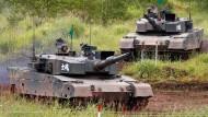 Gemeinsame Militärübung von Japan und Amerika
