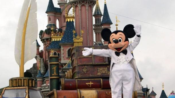 Micky Maus hat große Pläne