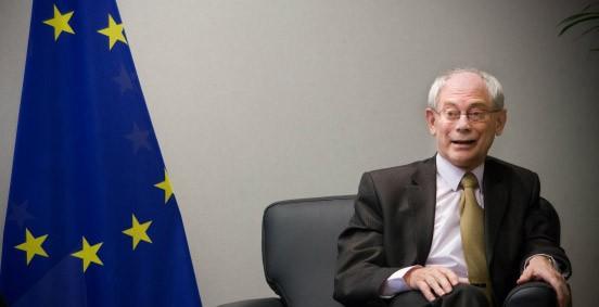 EU-Ratspräsident Van Rompuy: Anlaufstelle für Merkel und