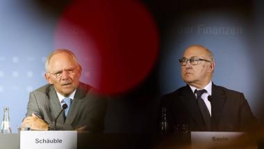 Nicht immer einer Meinung: Finanzminister Schäuble und sein französischer Kollege, Finanzminister Sapin