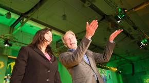 Die Grünen/Bündnis90 - Auf der 34. Ordentlichen Bundesdelegiertenkonferenz in Hannover startet die Partei in den Bundestagswahlkampf 2013 und wählt einen neuen Bundesvorstand und einen neuen Parteirat.