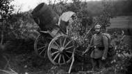 1914-11-22 Deutsche Artillerie, German artillery