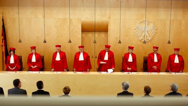 Verfassungsgericht billigt Euro-Rettungsfonds