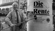 Ist heute 79 und arbeitet - zugegeben: zum Vergnügen - immer noch: Norbert Blüm