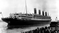 epaper 1914-11-24 Passagierdampfer Aquitania - Jungfernfahrt 1914