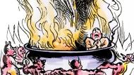 In Teufels Küche: Heilige Eide und ihre gelegentlichen Folgen