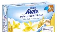 Alete Babynahrung erhält Negativpreis für Werbelüge