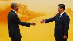 Obama schmeichelt den Chinesen