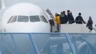 Ausreise von Asylbewerbern: eine für alle Beteiligten unwürdige Situation.