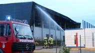 Flüchtlingsunterkunft in Nauen niedergebrannt