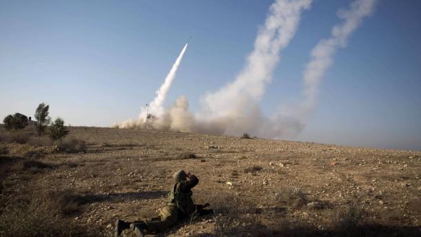 Hamas verstärkt Raketenbeschuss - Luftalarm in Tel Aviv