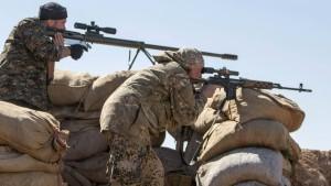 IS beginnt Offensive auf Kurdengebiet