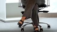 Wer zum Chef will, muss an ihr vorbei: Die Sekretärin.