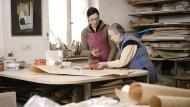 Ältere arbeiten freiwillig länger