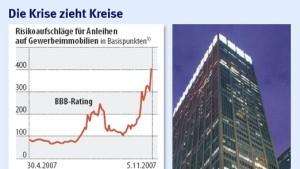 Die Krise weitet sich auf Gewerbeimmobilien aus
