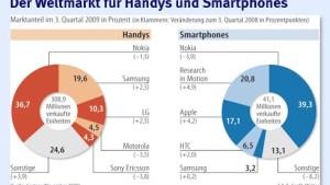 Durststrecke für Handy-Hersteller geht zu Ende
