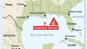 Kampf gegen den Ölteppich im Golf von Mexiko