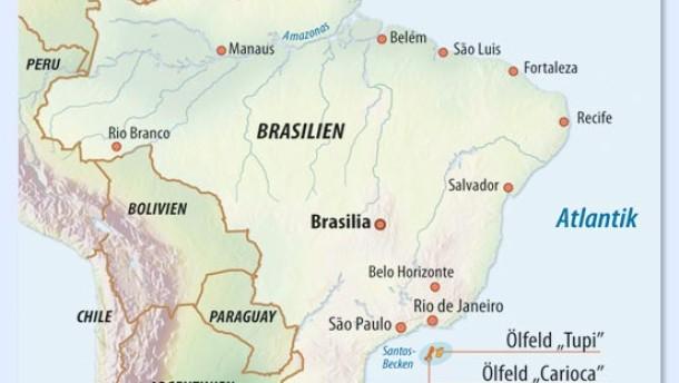 Brasilien auf dem Weg zur Ölmacht