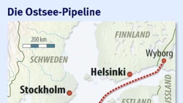 Frankreich will bei Ostsee-Pipeline einsteigen