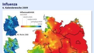 Ganz Deutschland ist vergrippt