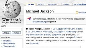 """""""Thriller"""" im Internet"""