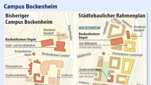 Neuer Rahmenplan für Campus Bockenheim