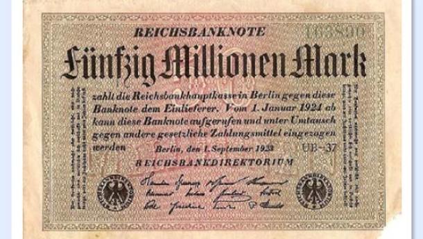 Eine Währungsreform ist nicht in Sicht