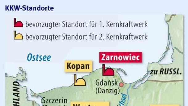 Polen setzt auf das erste Atomkraftwerk