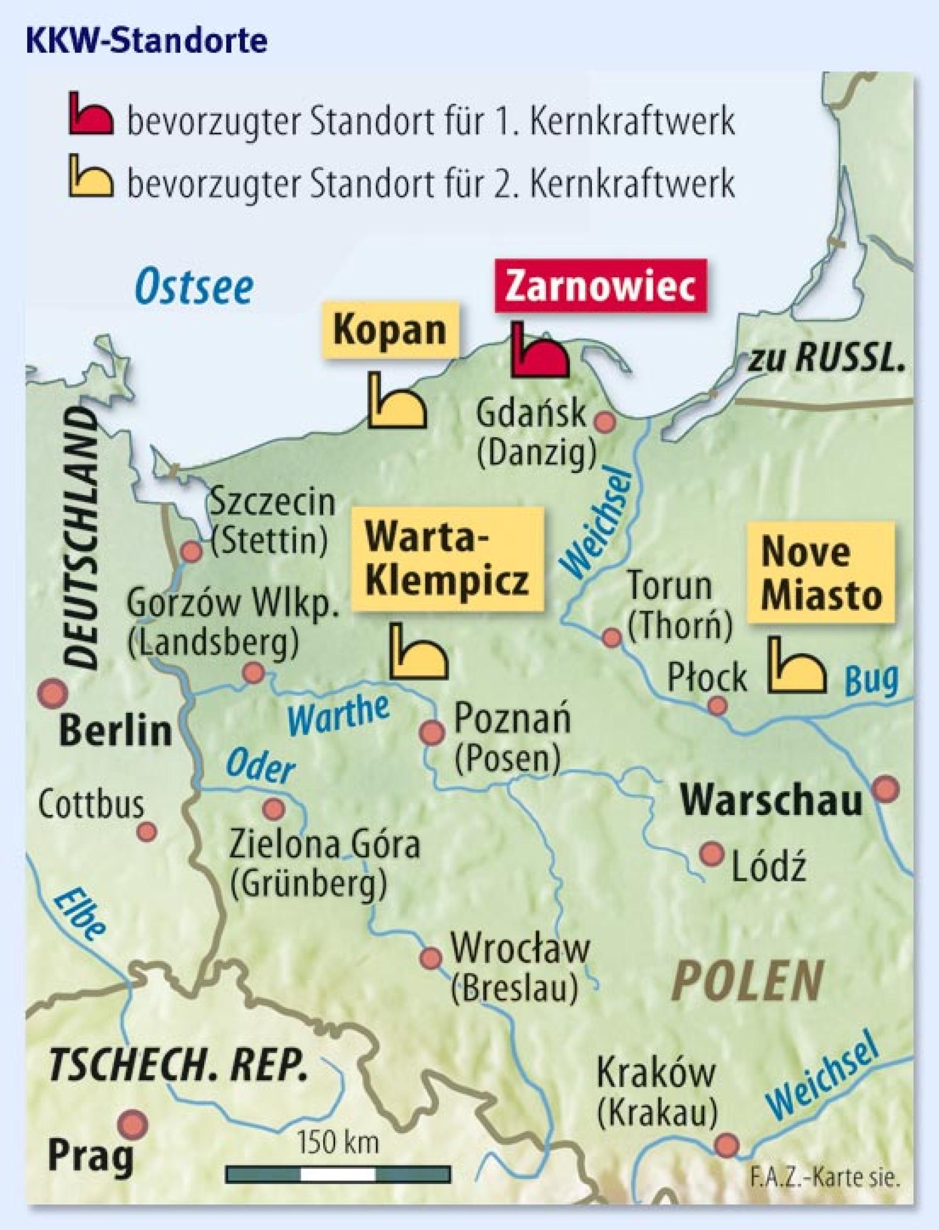 Energiepolitik Polen Setzt Auf Das Erste Atomkraftwerk