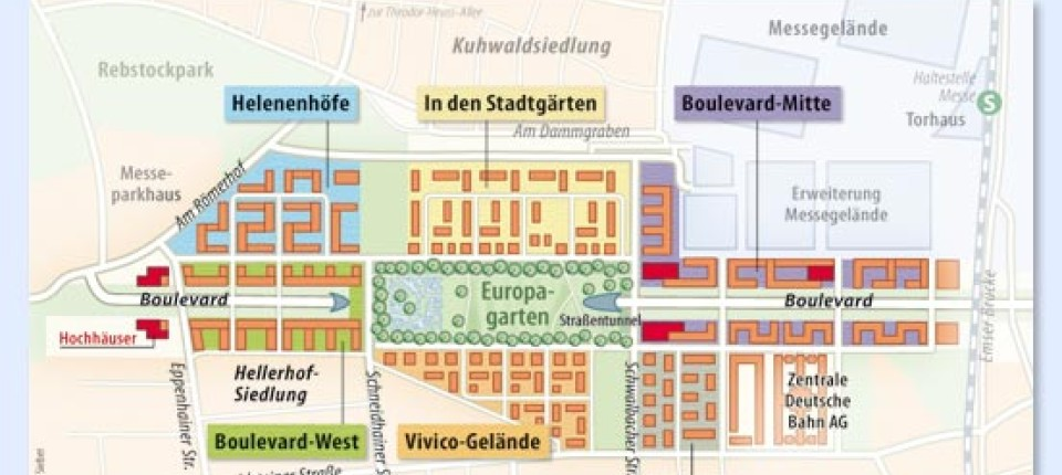Frankfurt Karte Europa.Frankfurter Europaviertel Hochwertige Wohnungen Am Europagarten