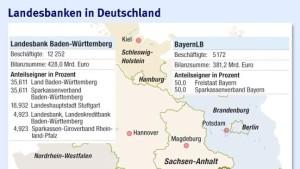 Eigner von LBBW und Bayern LB prüfen Fusion
