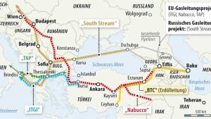 Aserbaidschan wählt eine Pipeline nach Europa