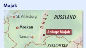 Infografik / Karte / Majak