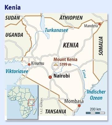 Mount Kenia Karte.Bild Zu Kenia Das Dreckige Herz Nairobis Bild 1 Von 1 Faz