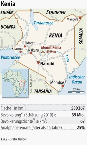 Mount Kenia Karte.Bilderstrecke Zu Ostafrika Der Aufschwung Im Schatten Des