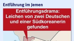 Botschafter: Deutsche Geiseln bald frei