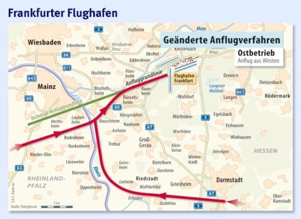 Frankfurt Weniger Schub Umkurven Sanfter Landen Region Und Hessen Faz