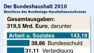 Bundestag beschließt Rekordverschuldung