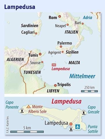 Italien Karte Lampedusa.Bilderstrecke Zu Fluchtlingsstrom Nach Italien Tunesien
