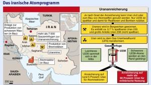Amerika ernsthaft besorgt über Irans Atomprogramm