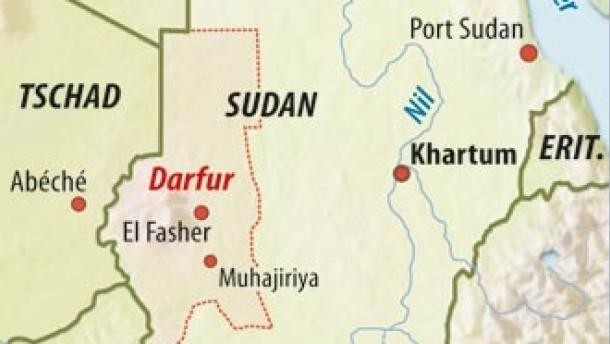 Sieben Blauhelmsoldaten in Darfur getötet