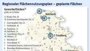 Neue Wohn- und Gewerbegebiete bis 2020
