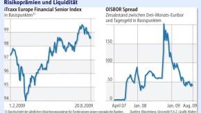 Infografik /  Risikoprämien und Liquidität